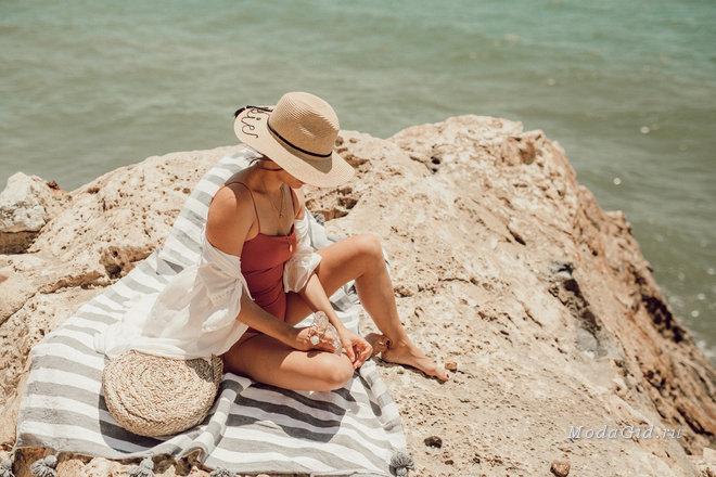 Пляжный стиль в модных блогах: лето 2018