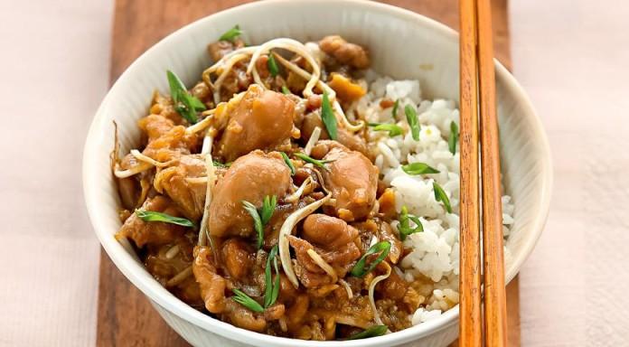 Интересный рецепт приготовления курицы, под названием ОЯКОДОН!
