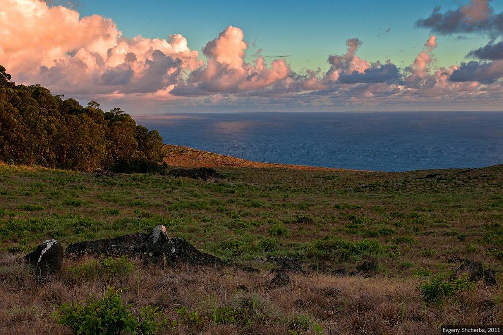 Прогулка по острову Пасхи