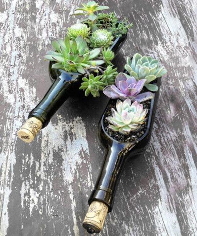 Вещи из бутылки от вина