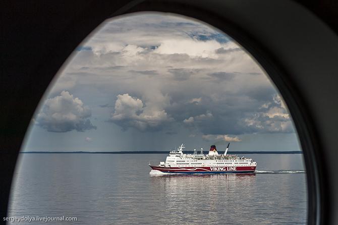 Как устроен самый современный паром на Балтике