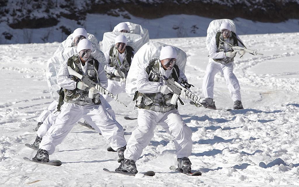 Зимние учения южнокорейского спецназа-2