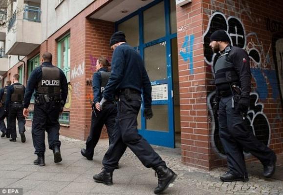 Полиция Берлина задержала банду арабов