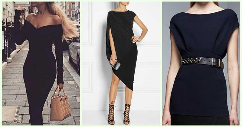 Маленькое чёрное платье: 30 идей для безупречности