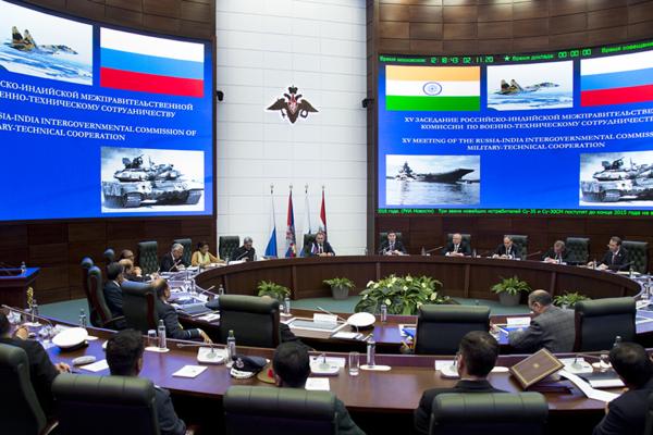 «Рособоронэкспорт»: Портфель заказов в Индии превышает 4 млрд долларов
