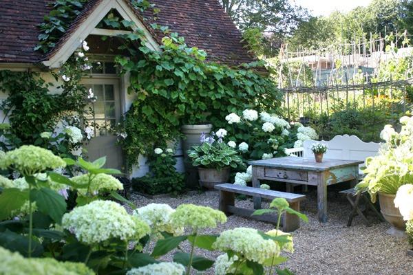Ландшафтный дизайн с садом и огородом