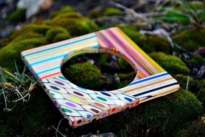 Бижутерия из цветных карандашей (11 фото)