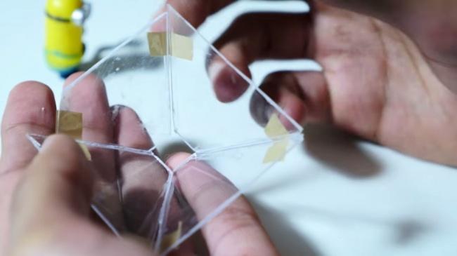 Голограмма на телефоне своими руками размеры
