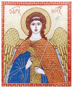 Русское золотое шитье