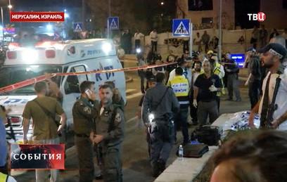 Палестинец намеренно сбил на машине группу израильских солдат