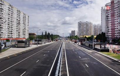 Движение по Боровскому шоссе восстановлено после завершения строительства метро