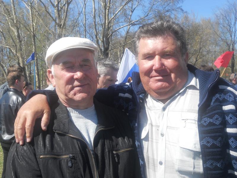 Ветераны АТП.