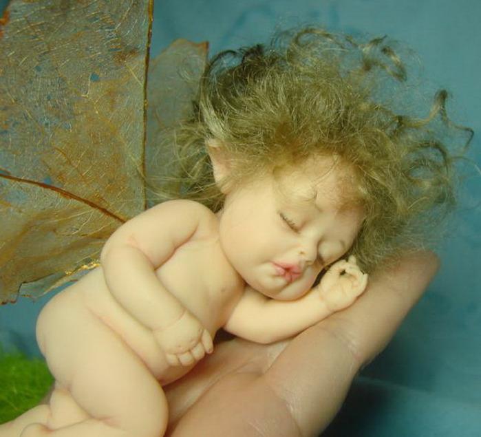 Куклы-малютки Галины Маковской
