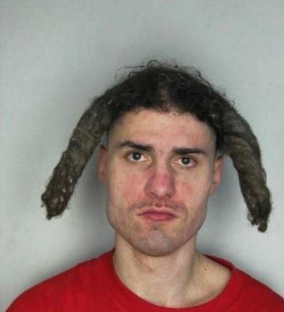 Фото смешных причёсок