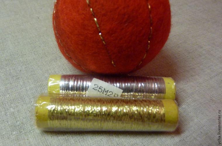 Мастерим войлочные шары на пенопластовой основе