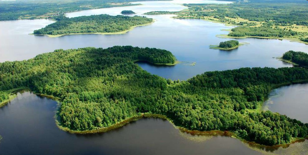 Легенда о происхождение озера Селигер горы, легенда, озера, реки