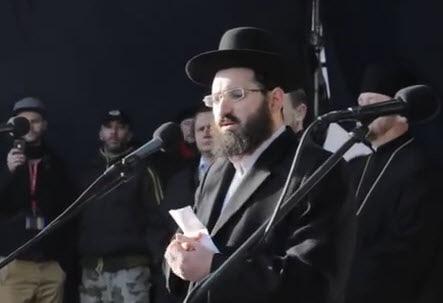 Пострадавший раввин: в Украине эскалация антисемитизма...