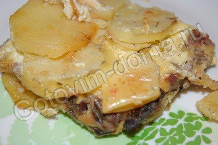 Рецепт пирога из лаваша с сыром и зеленью с фото пошагово