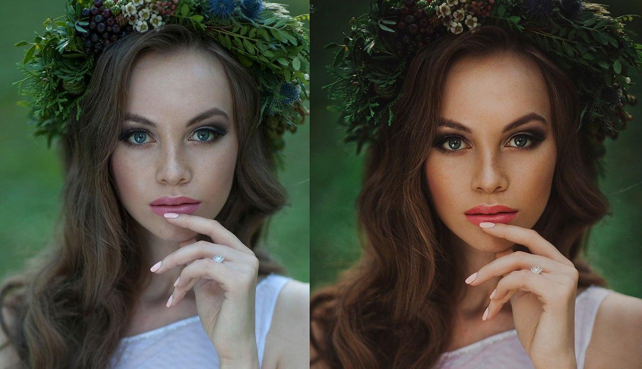 обработка фотографий на фотошопе русский