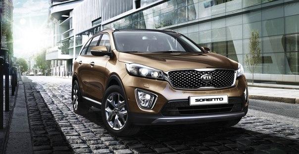 В России начались продажи нового поколения Kia Sorento - Prime