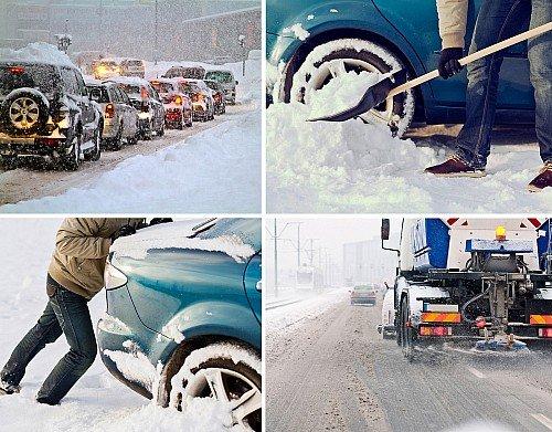 Не рискуй на зимней дороге