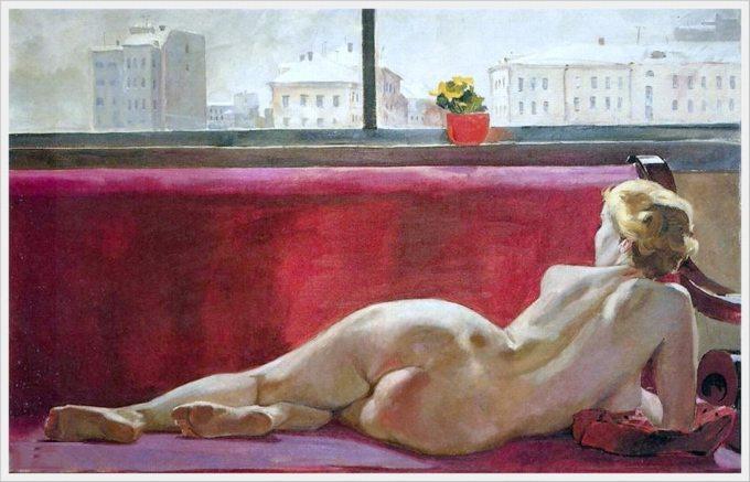 Эротика в советской живописи