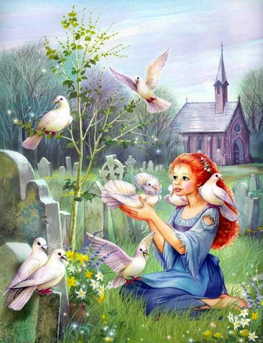 Сказочные иллюстрации Zorina Baldescu