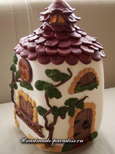 Сказочные домики своими руками из бутылок