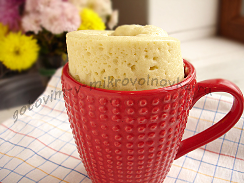 Кексик в кружке пока кипит чай!