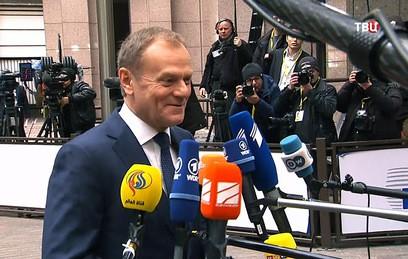 Туск рассказал о прогрессе в переговорах между ЕС и Британией