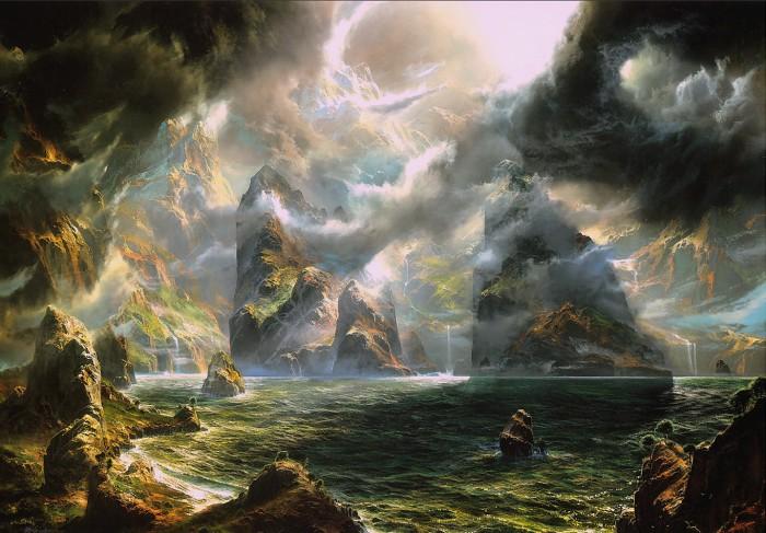 Фантастические горные пейзаж…