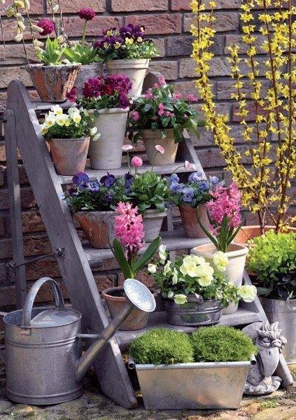 Декоративные элементы для сада