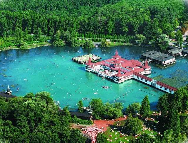 Озеро Хевиз, Венгрия природа, чудеса