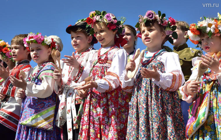 Фестиваль фольклорных танцев в «Коломенском»