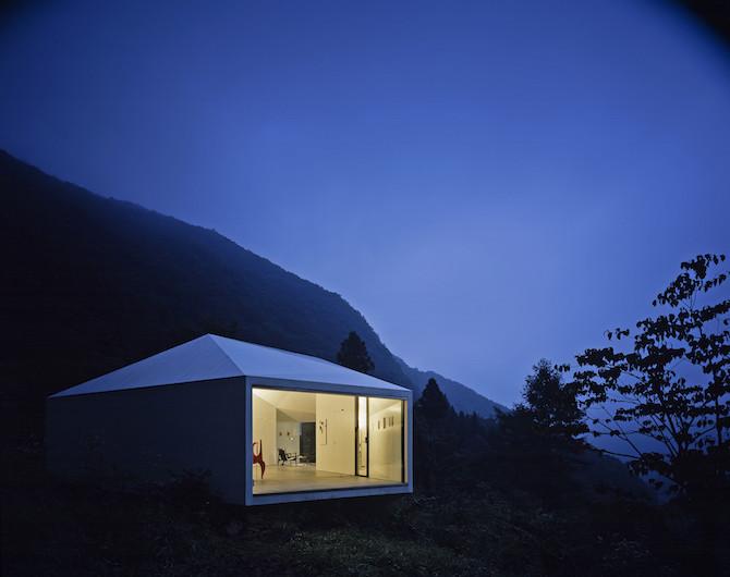 Минималистичная вилла от японского архитектора