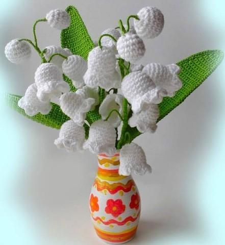 Вяжем шикарные цветы