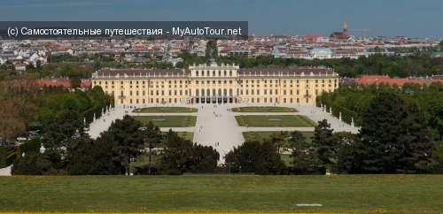 Дворец Шенбрунн - жемчужина венской архитектуры