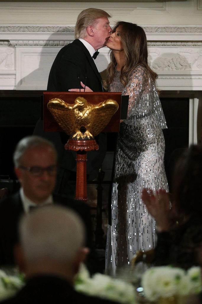 Образ дня: Мелания Трамп в платье за 8000 долларов