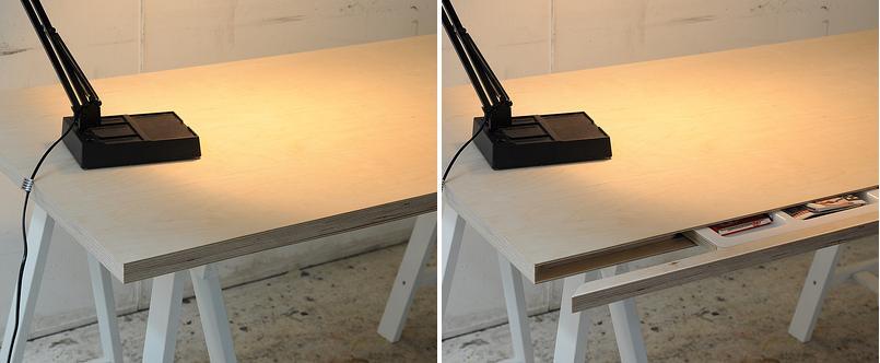Стол с секретом