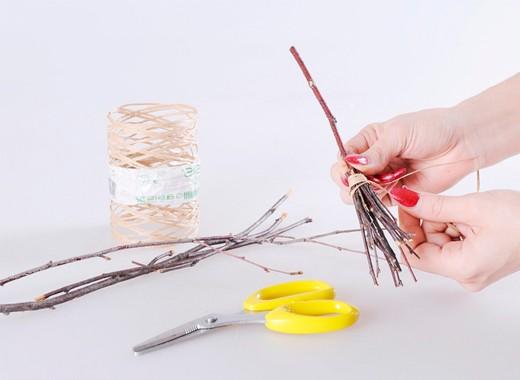 Как сделать метелку своими руками