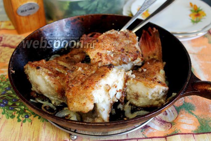 Морской окунь на сковороде рецепт пошагово