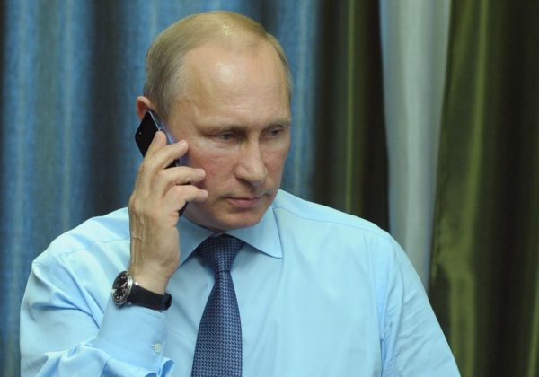 Путин и Обама обсудили украинский кризис