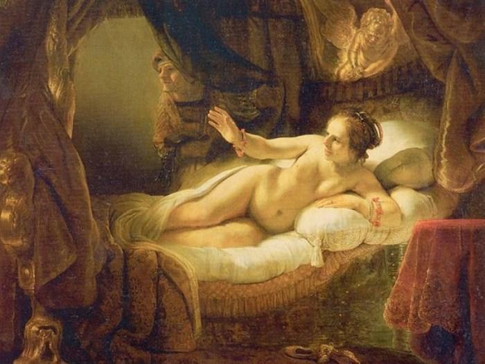 Рембрандт. Даная, 1636-1647