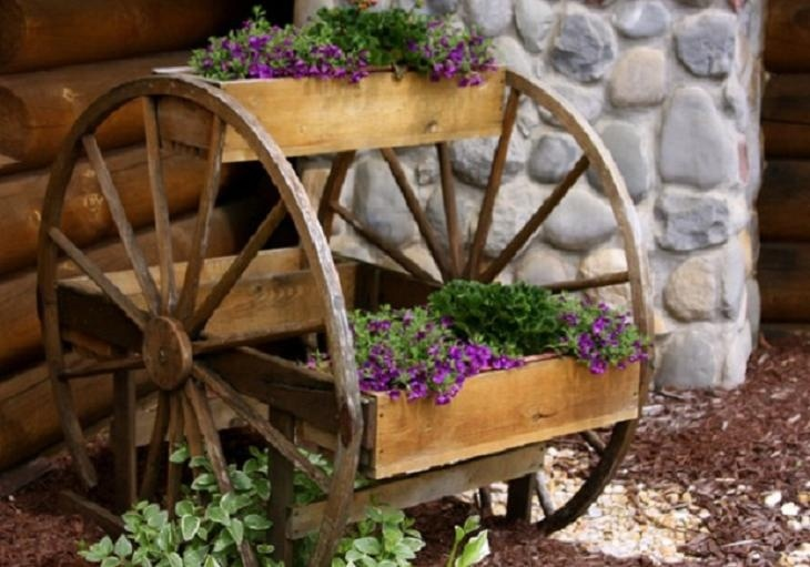 Креативные идеи для сада и дачи своими руками фото