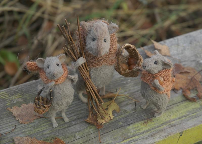 autumn mice