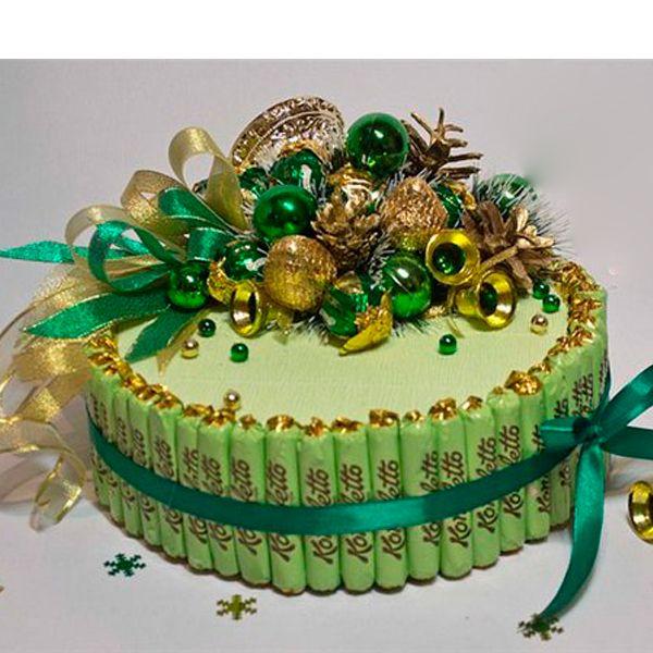 Торт из конфет своими руками мастер класс фото