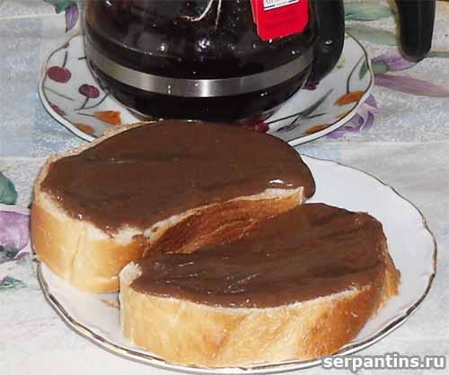 Паста шоколадная для сладких бутербродов