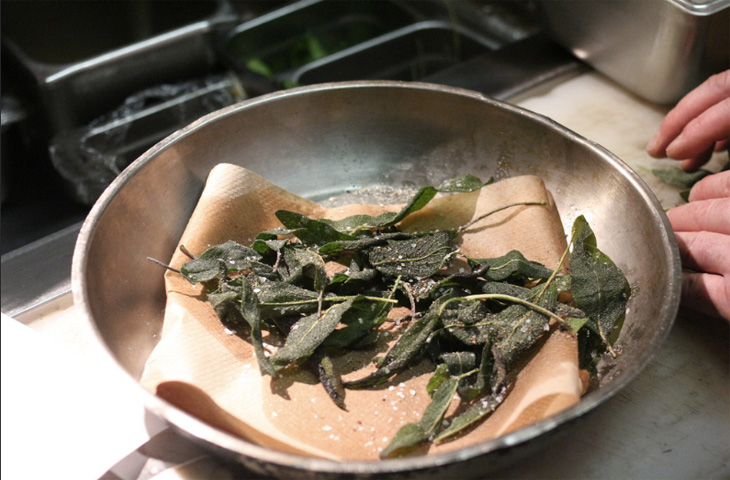 Правила подготовки зелени для салатов