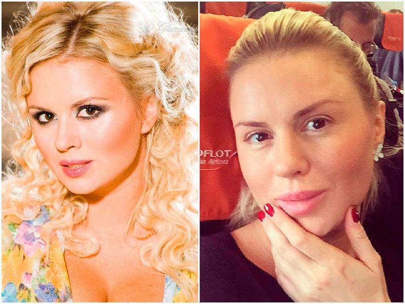 российские звезды фото без грима