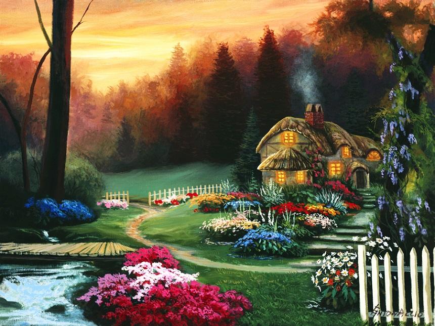 Американский художник Egidio Antonaccio